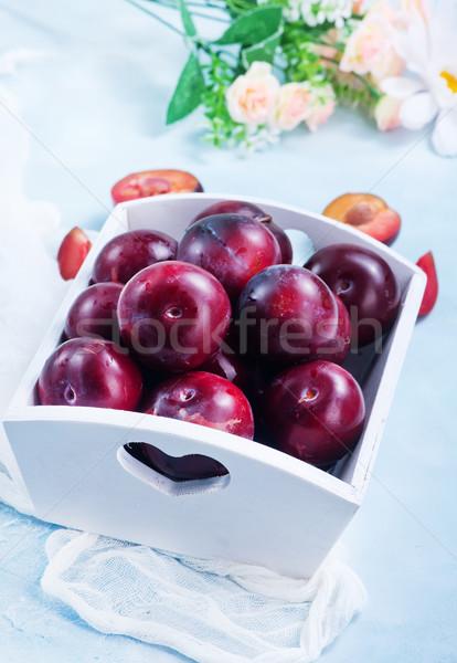 新鮮な ボックス 表 食品 庭園 ストックフォト © tycoon