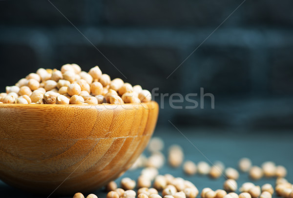 chickpea Stock photo © tycoon