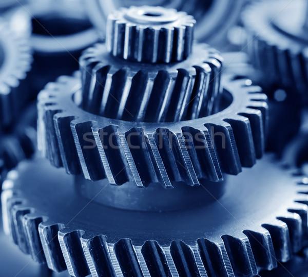 metal gears Stock photo © tycoon