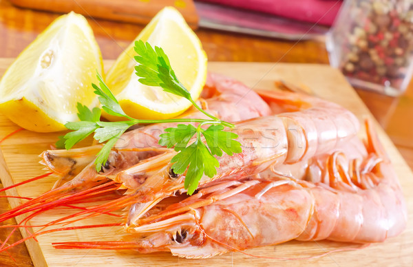 prawn Stock photo © tycoon