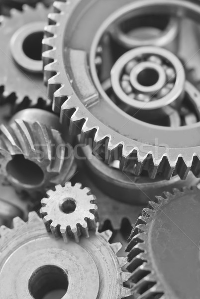 gears,nuts and bolts Stock photo © tycoon