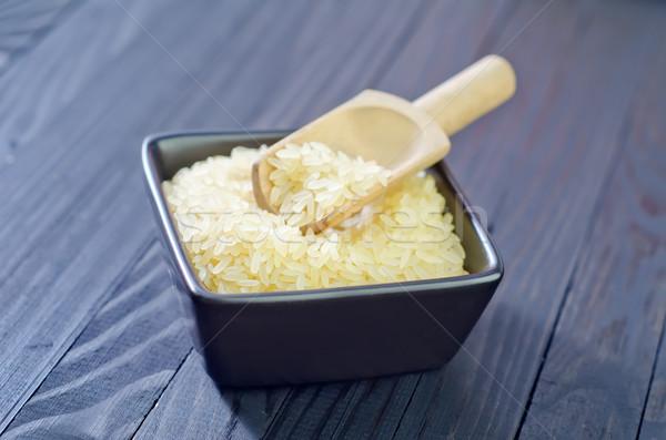 raw rice Stock photo © tycoon