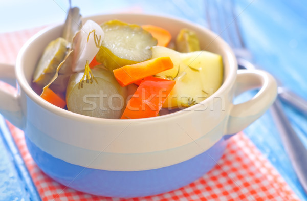 marinated vegetables Stock photo © tycoon