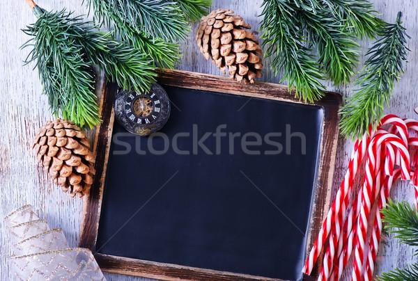 Natal doce árvore comida fundo Foto stock © tycoon