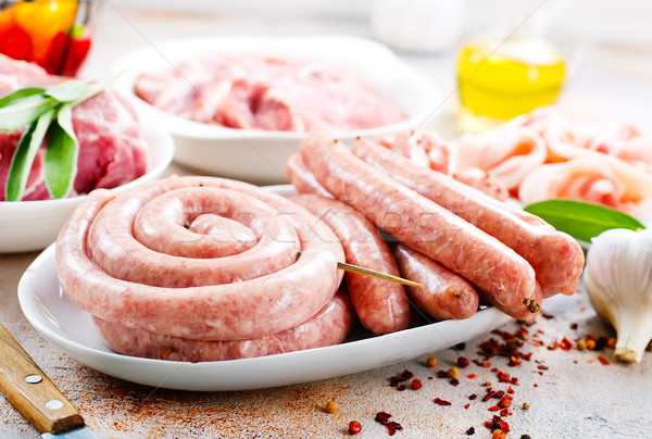 meat products Stock photo © tycoon
