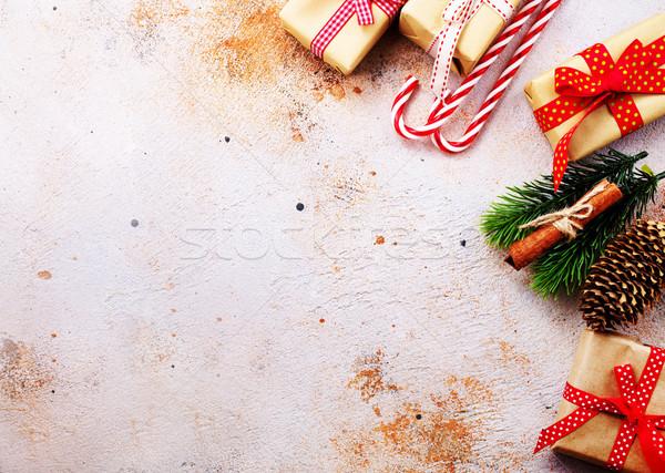 クリスマス プレゼント 紙 ツリー 食品 デザイン ストックフォト © tycoon