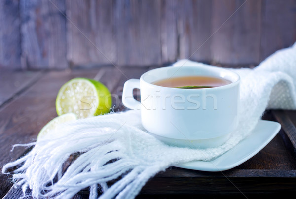 fresh tea Stock photo © tycoon