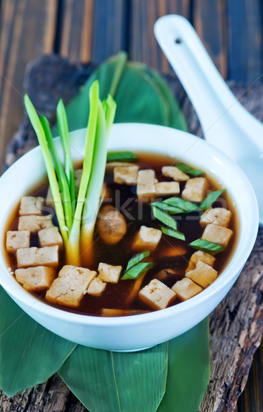 soup in bowl Stock photo © tycoon
