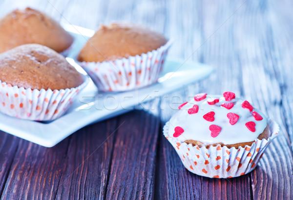 muffins Stock photo © tycoon