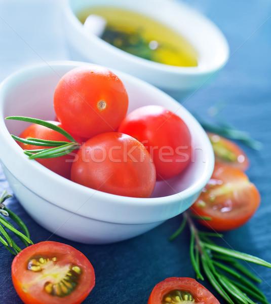 Сток-фото: томатный · продовольствие · столе · бутылку · красный · белый