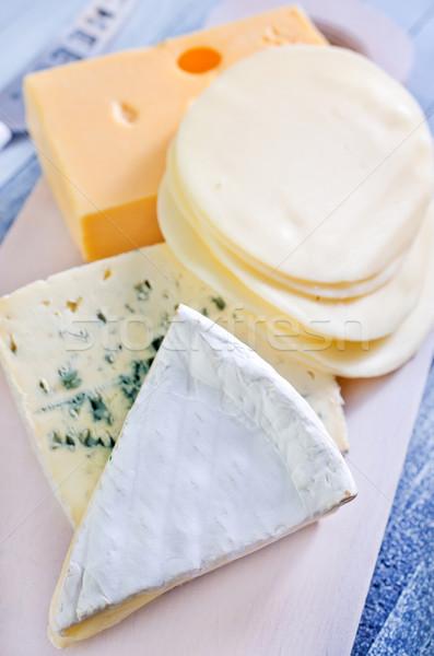 チーズ 食品 グループ 料理 黄色 ダイニング ストックフォト © tycoon