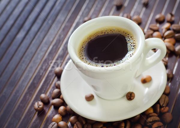 Caffè aroma Spice alimentare sfondo piatto Foto d'archivio © tycoon
