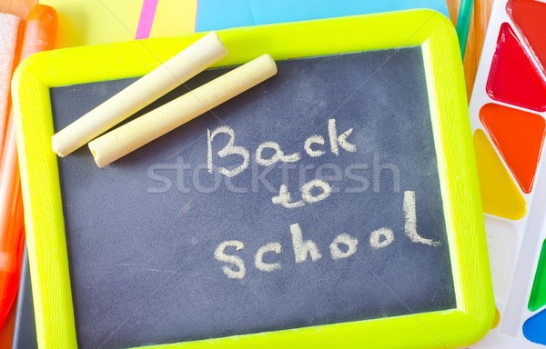 black board Stock photo © tycoon