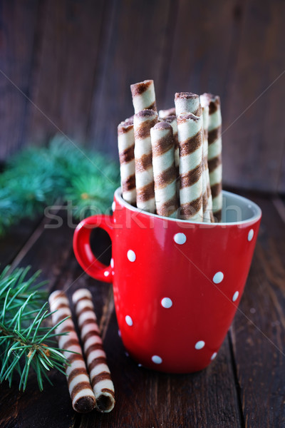 biscuit tubes Stock photo © tycoon