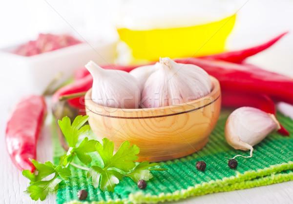 аромат Spice продовольствие природы пространстве красный Сток-фото © tycoon