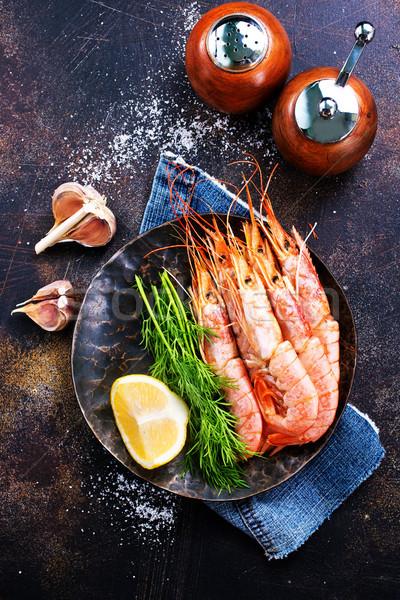 соль Spice таблице морем черный Сток-фото © tycoon