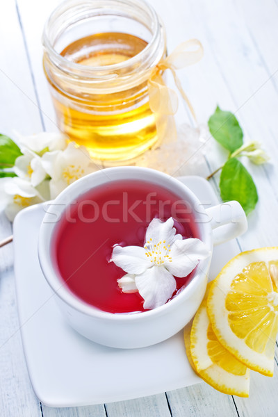 jasmin tea Stock photo © tycoon