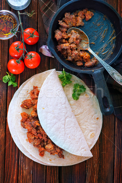 ingredients for taco Stock photo © tycoon