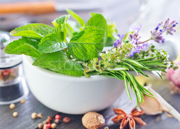 herb and aroma spice Stock photo © tycoon