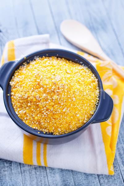 Stock photo: corn porridge