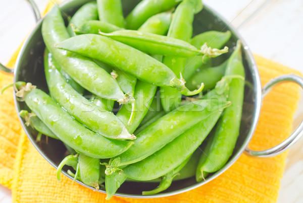 緑 エンドウ 健康 工場 調理 食べる ストックフォト © tycoon