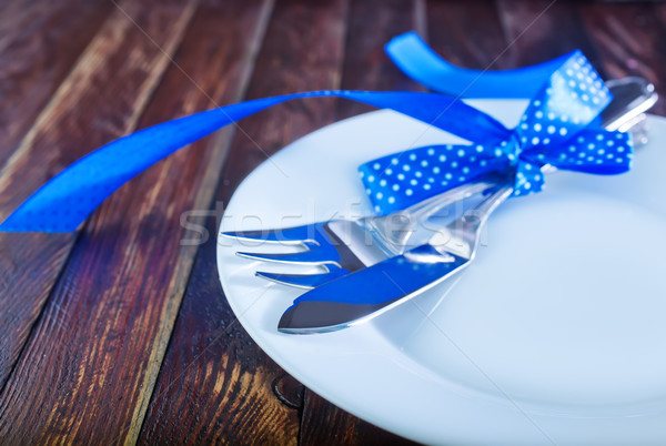 table place setting Stock photo © tycoon