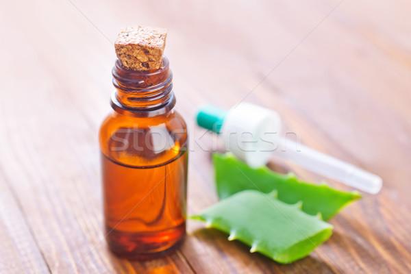 Aloe foglia salute sfondo massaggio olio Foto d'archivio © tycoon