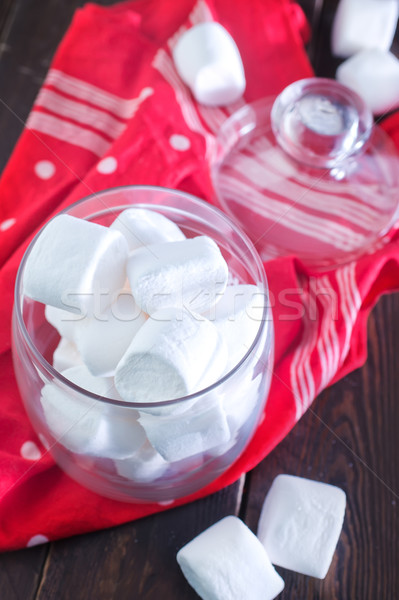 white marshmallow Stock photo © tycoon