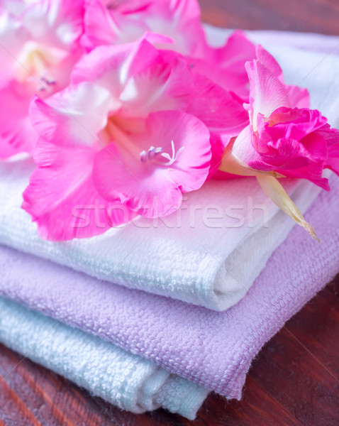 towels Stock photo © tycoon