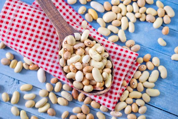 raw beans Stock photo © tycoon