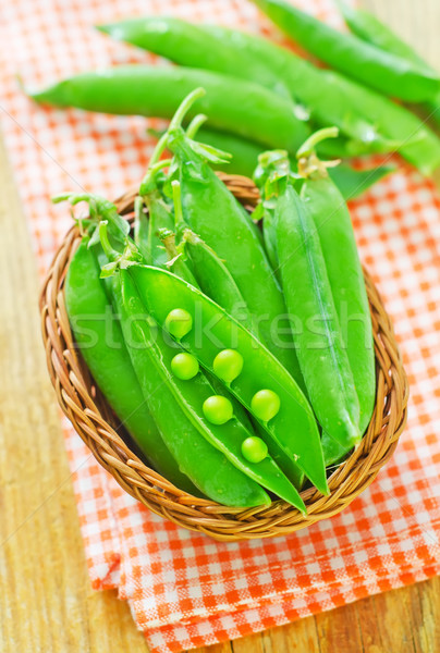 green peas Stock photo © tycoon