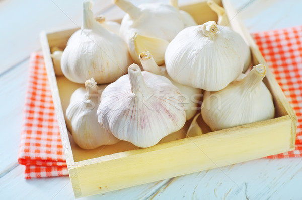 garlic Stock photo © tycoon