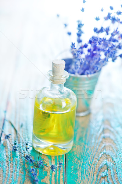 lavender oil Stock photo © tycoon