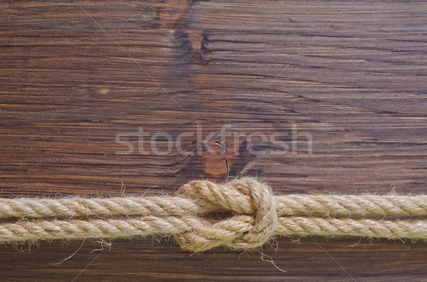 rope on wooden backgrounds Stock photo © tycoon