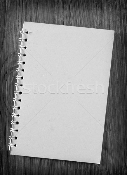 note on wooden backgrounds Stock photo © tycoon