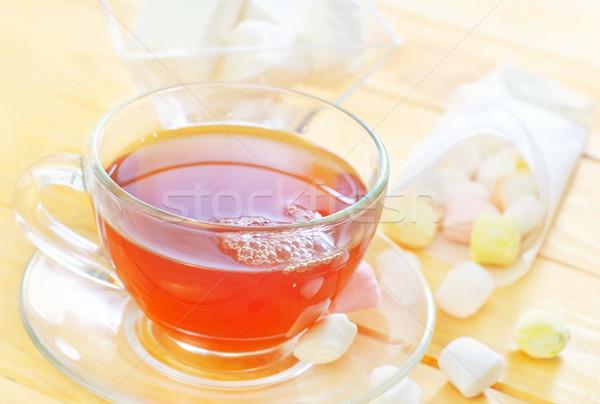 Frescos té dulces casa retro taza Foto stock © tycoon