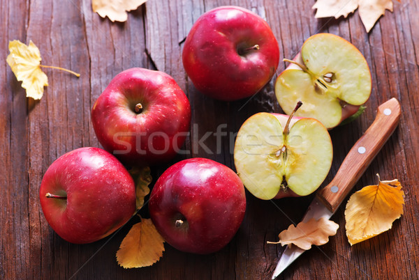 red apples Stock photo © tycoon