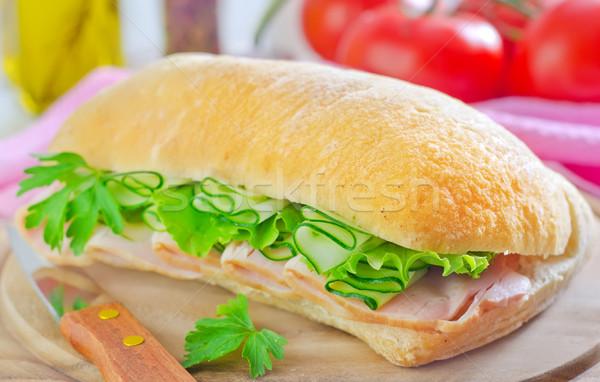 Stock photo: sandwich