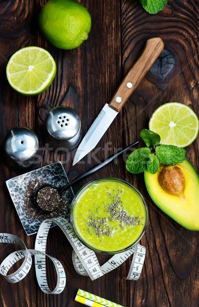 avocado smoothie Stock photo © tycoon