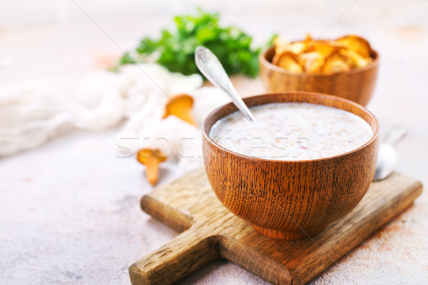 mushroom soup Stock photo © tycoon
