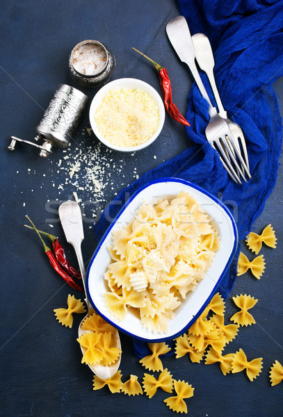Pasta sprinkled with cheese  Stock photo © tycoon