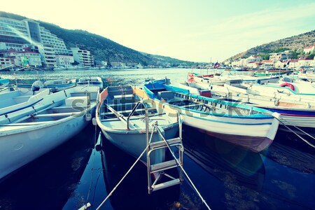 boats Stock photo © tycoon