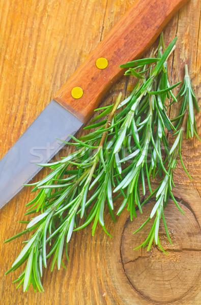 ローズマリー 食品 木材 健康 薬 工場 ストックフォト © tycoon