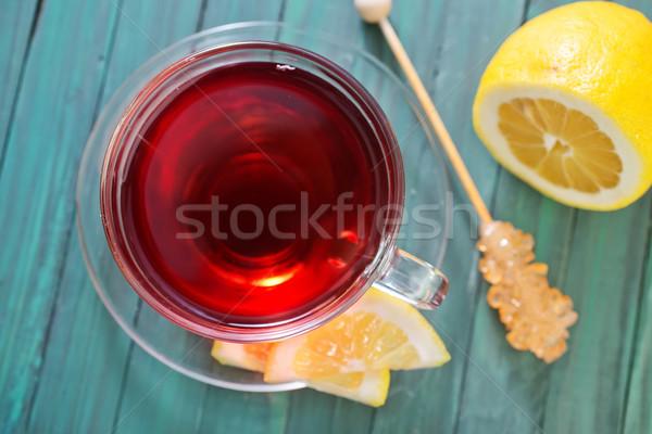 Сток-фото: свежие · чай · природы · фрукты · фон · пить