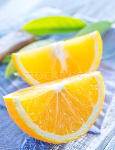 étel természet gyümölcs asztal ital koktél Stock fotó © tycoon