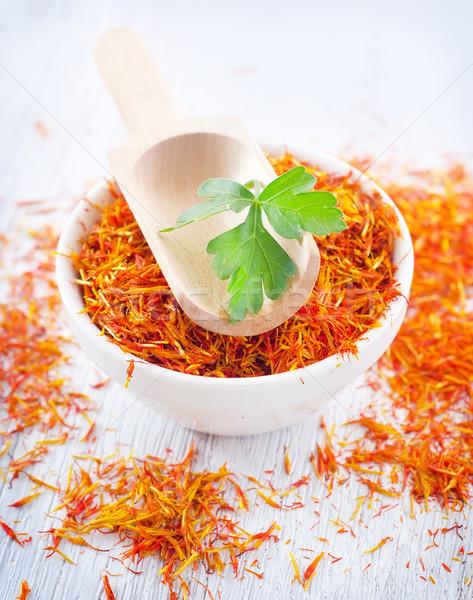 saffron Stock photo © tycoon