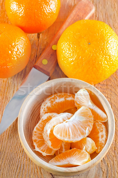 árvore casa saúde laranja tabela prato Foto stock © tycoon