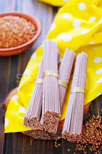buckwheat noodles  Stock photo © tycoon
