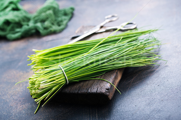 green onion Stock photo © tycoon