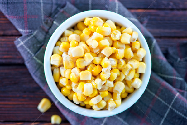 sweet corn Stock photo © tycoon